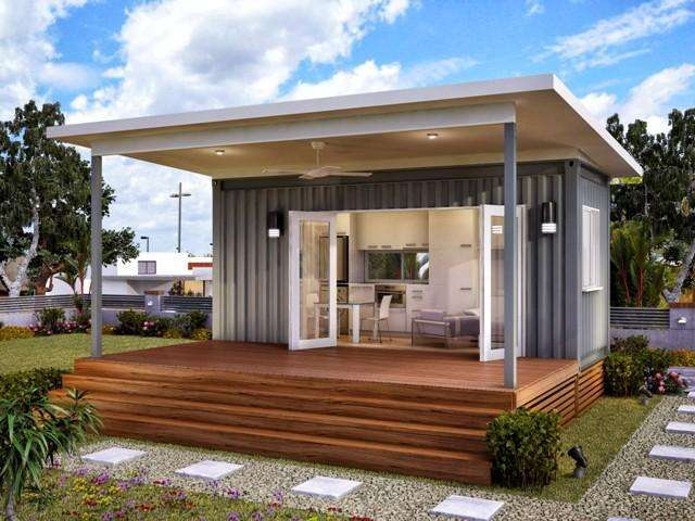 Shipping container homes for sale for Granny cottage plans